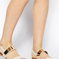 Miss KG Dawn Nudette Double Strap Sandal