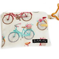 Flower Basket Bikes Treat & Bag Holder