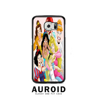 Disney Princess Funny Samsung Galaxy S6 Case Auroid