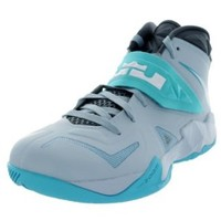 Nike Mens Zoom Soldier VII Basketball Shoes Lite Armory Blue/White/Gamma Blue 599264-402 Size 9.5