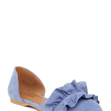 14th & Union | Karlene Ruffled d'Orsay Flat | Nordstrom Rack