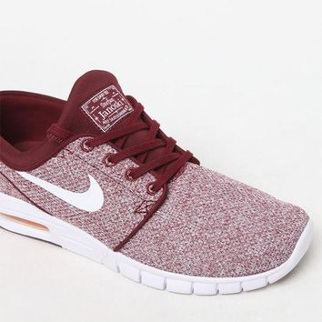 CREYONDI5 Nike SB Stefan Janoski Max Knit Red & White Shoes