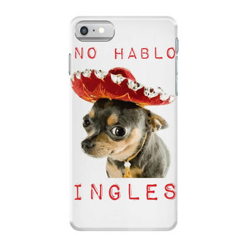 chihuahua dog mexican spanish iPhone 7 Case