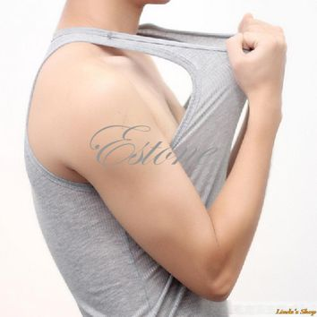 1Pc Fashion Hot Sale Mens Sleeveless Tank Top Muscle Tshirts Sportwear Vest Undershirts