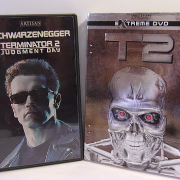 T2 DVD Movie Arnold Schwarzenegger 1991 Terminator Part 2 Artisan