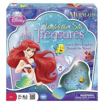 The Little Mermaid Under the Sea Treasures Game