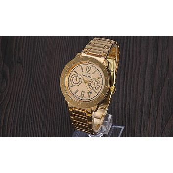 Pandora 2018 New Fashion Trendy Quartz Watch F-YY-ZT Gold