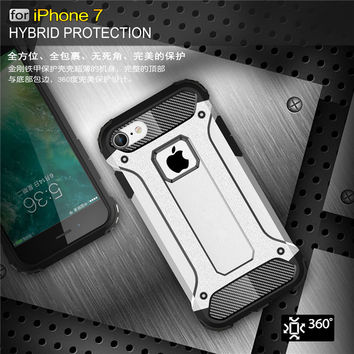 KRY Phone Cases for iphone 6 Case 6s Plus Armor Stand Hard Rugged Impact Coque Capa Cover for iphone 7 Case 7 Plus Cases