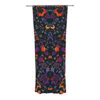 "Nikki Strange ""Bali Tapestry"" Dark Sheer Curtain - Outlet Item"
