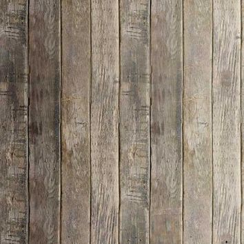 PRINTED HARVEST BROWN WOOD FLOOR PHOTO BACKDROP 5x6 - LCCF1069 - LAST CALL