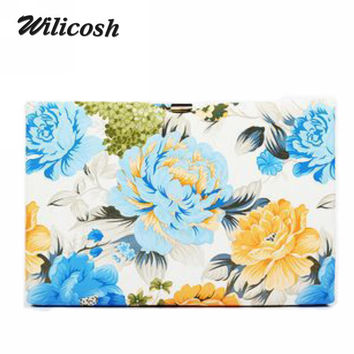 2016 New Design Women's Day Clutch Party Evening Bag Ladies Leather Handbag Occiednt Style Clutch Bags For Women Wallet DB5250
