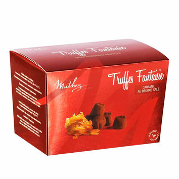 Mathez - Chocolate Truffle with Salted Butter Caramel, 8.8 oz