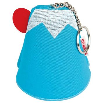 Key Chain Case Mount Fuji - Blue