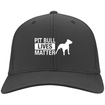 Pit Bull Lives Matter- CP80 Port & Co. Twill Cap By Little Pit Shop