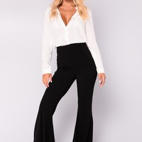Letty Flare Pants - Black