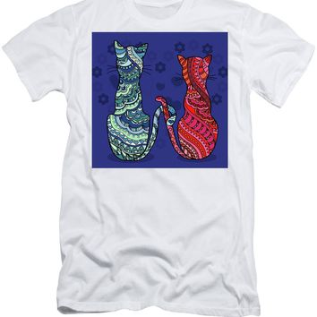 Cat Lovers - Men's T-Shirt (Athletic Fit)