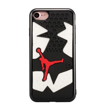 2016 3D TPU Jordan Sneaker Shoes Phone Cases for apple iphone7 7 plus soft Silicone Mi