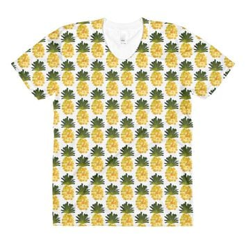Yellow Pineapple T-shirt
