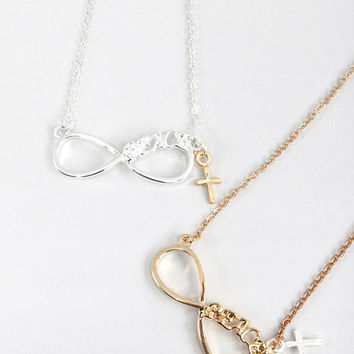Infinity Peace Necklace