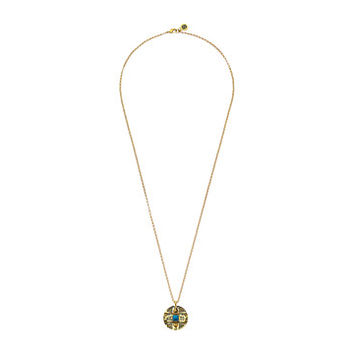 House of Harlow 1960 Maricopa Coin Pendant Necklace Turquoise - Zappos.com Free Shipping BOTH Ways