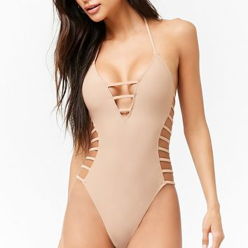 Strappy Caged One-Piece