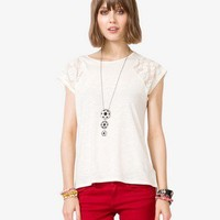 Lace Paneled Top | FOREVER 21 - 2025100484