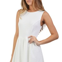 White Skater Dress at Blush Boutique Miami - ShopBlush.com