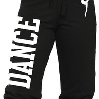 Juniors Dance Capri Sweats S-L