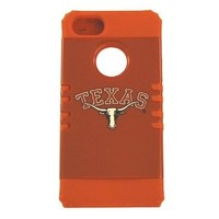 Apple iPhone 5 Official Texas Longhorns College Rocker Series Case for iPhone 5 League Snap On Protector Cover Case - Includes a US Flag Keychain