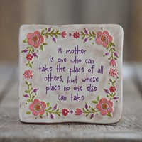 Mother  Terra  Cotta  Keepsake  From  Natural  Life