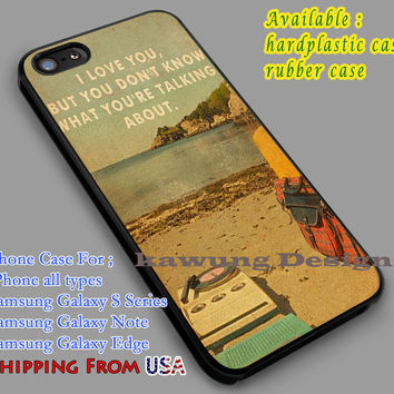 Moonrise Kingdom Poster iPhone 6s 6 6s+ 5c 5s Cases Samsung Galaxy s5 s6 Edge+ NOTE 5 4 3 #quote dl5