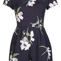 **Cold Shoulder Playsuit by LOVE | Topshop
