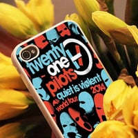 Twenty One Pilots materials hard plastic for iPhone case, Samsung Galaxy case and iPod case