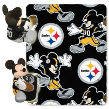 Pittsburgh Steelers Disney Hugger Blanket
