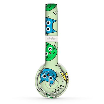 The Colorful Cat iCons Skin Set for the Beats by Dre Solo 2 Wireless Headphones