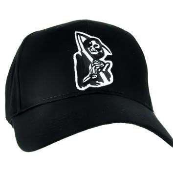 Grim Reaper Hat Sons of Anarchy Baseball Cap Occult Gothic Clothing