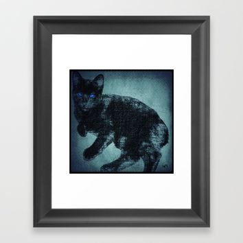 Levi's Tattoo Framed Art Print by Jessica Ivy