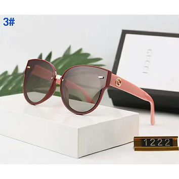 GUCCI Newest Hot Sale Women Men Summer Sun Shades Eyeglasses Glasses Sunglasses 3#