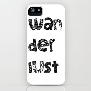 Wanderlust iPhone Case by Maria Sh | Society6