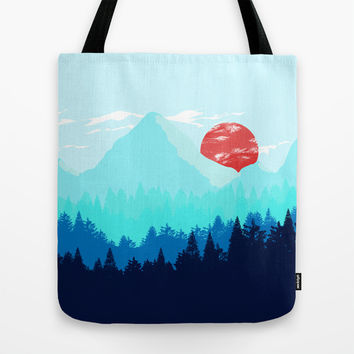Good Morning Tote Bag by Miss L In Art