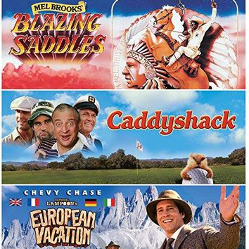Gene Wilder & Cleavon Little & Mel Brooks & Harold Ramis-Blazing Saddles / Caddyshack / National Lampoon's European Vacation