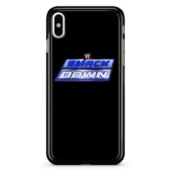 Wwe Smackdown Logo 2 iPhone X Case