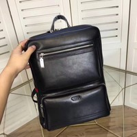 GUCCI MEN'S NEW FASHION LEATHER BACKPACK BAG