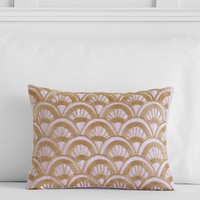 Anna Sui Beaded Deco Pillow Cover