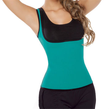 Body Sexy Shaper Waist Rubber Slim Ladies Gym Vest Corset [4965346308]