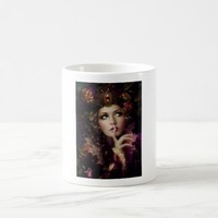 Fairy shush fantasy coffee mug