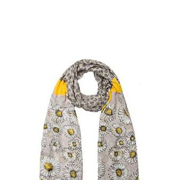 Daisies Oblong Silk Scarf - Marc Jacobs