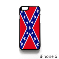 Rubber Confederate Rebel Flag for Iphone 4/4S Iphone 5/5S/5C Iphone 6/6S/6S Plus/6 Plus Phone case