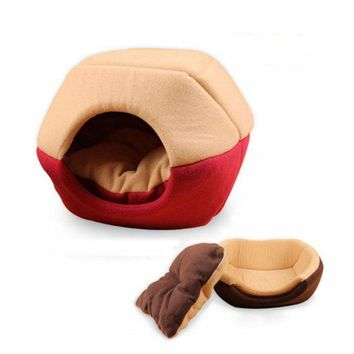 Foldable Cat Cave Bed