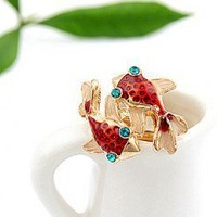 Fish Lovers Fashion Ring | LilyFair Jewelry